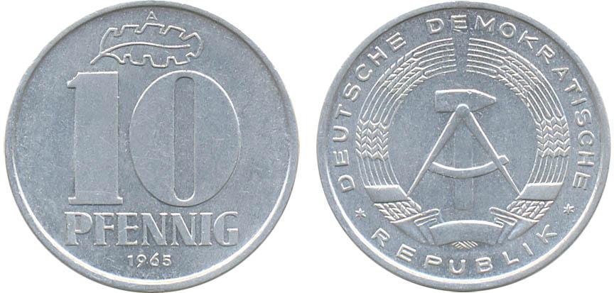 10 pfennig 1967 цена монеты латвия