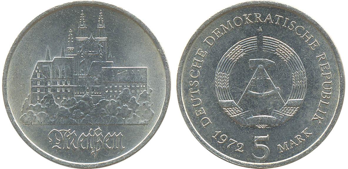Памятная монета гдр 20 копеек 1915 год