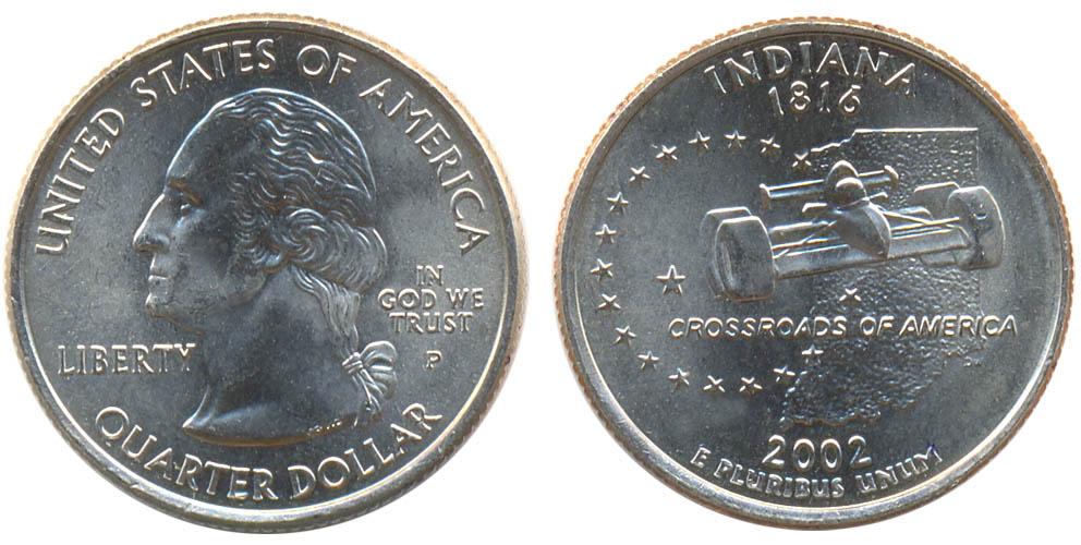 Индиана 2002 сколько стоит цены на коллекционные монеты ссср
