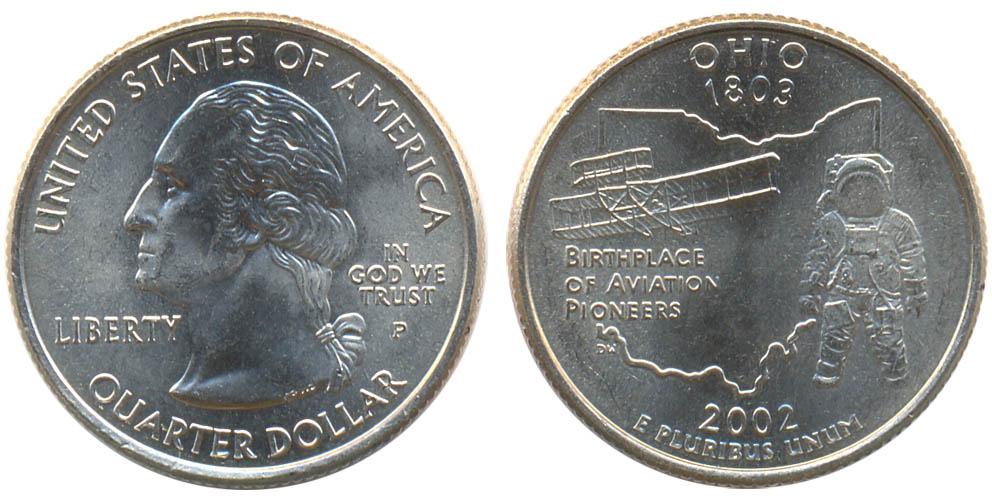 Четвертак индиана 2002 года марки вьетнама цена