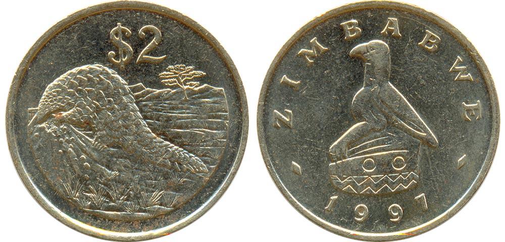Зимбабве монеты 2017 как хранить купюры